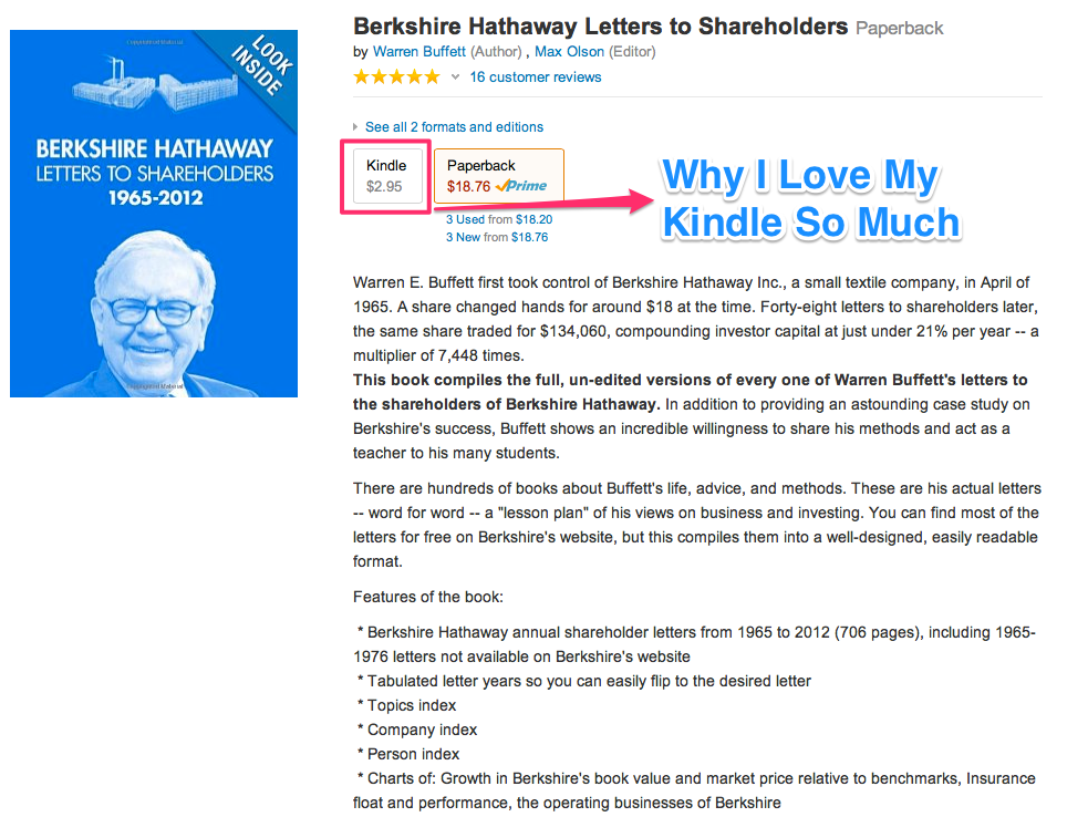 berkshire hathaway letters to shareholders book pdf